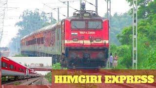 HIMGIRI EXPRESS   RED LHB COACHES UPGRADE   ULTRA-MODERN RAKE !!