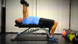 Exercise Index: Benchpress with Dumbbells
