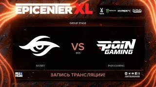 Secret vs paiN Gaming, EPICENTER XL, game 2 [Eiritel, Lum1Sit]