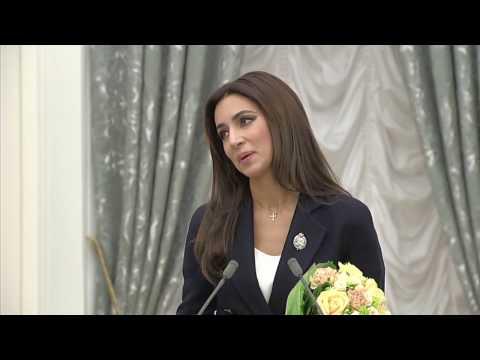 Зара - Церемония вручения наград в Кремле / Zara - Tseremoniya vrycheniya nagrad v Kremle (видео)