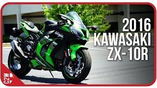1. 2016 Kawasaki ZX-10r | First Ride