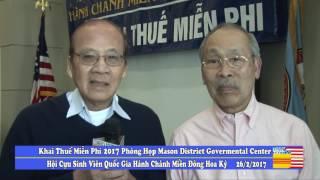 Ngày Khai Thuế Miễn Phí 2017