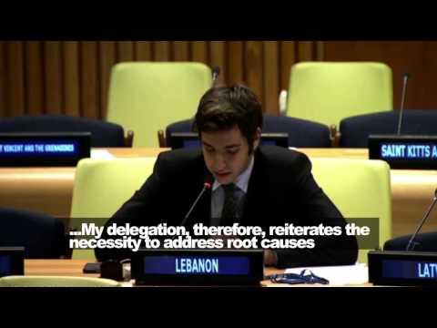 Lebanon's Anti-Terrorism Charade @ UN