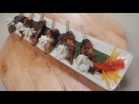 Pepper Soya Chicken Supreme with Wasabi Foam 29 October 2014 06 PM