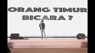 Video Arie Kriting - Orang Timur Bicara? MP3, 3GP, MP4, WEBM, AVI, FLV April 2019