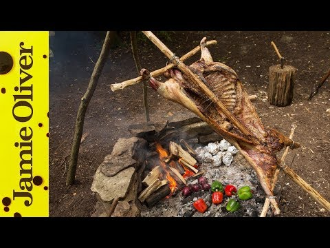 Spit Roast Lamb | Hunter Gather Cook