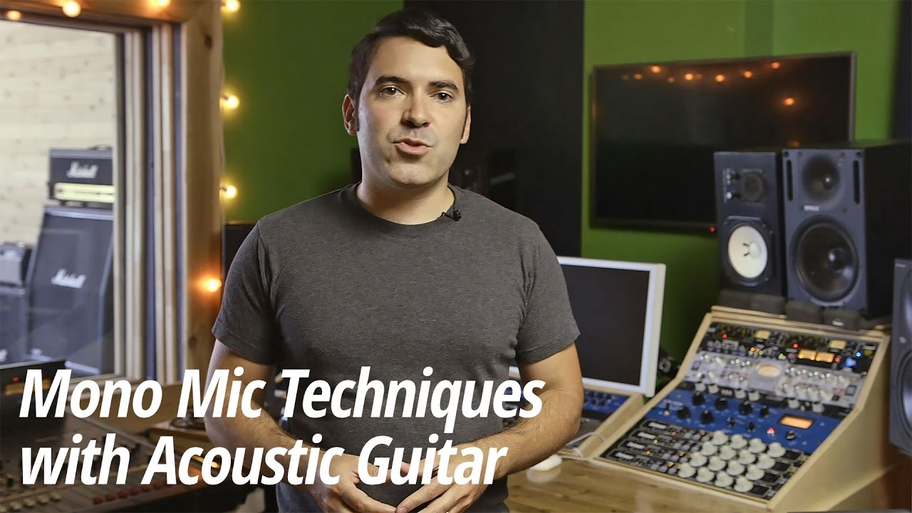 Mic Techniques with Electric Guitars