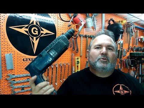 Taladro percutor , desarme y mantenimiento preventivo