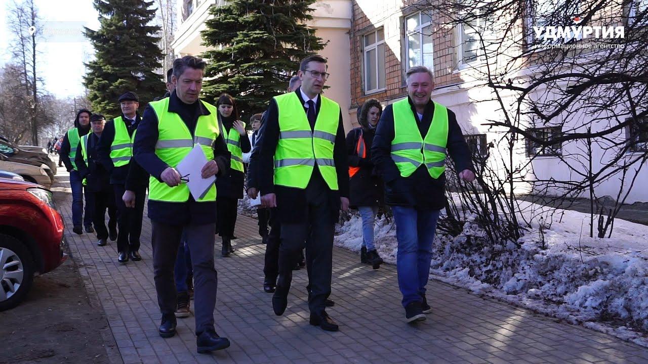 Проверка гарантийных дорог в Ижевске