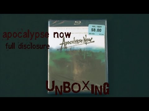 Apocalypse Now 3-Disc Full Disclosure Blu-Ray UNBOXING