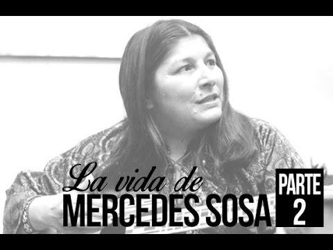 Mercedes Sosa video Informe Especial - Parte 2