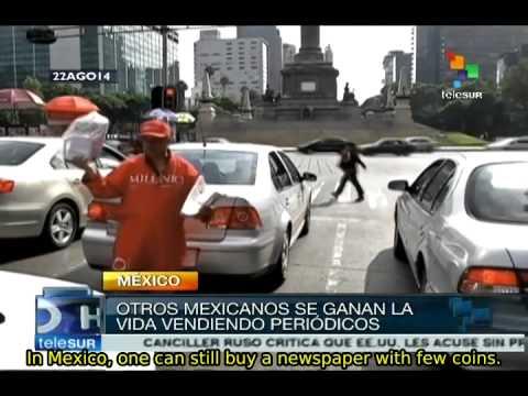Mexico City's street economy