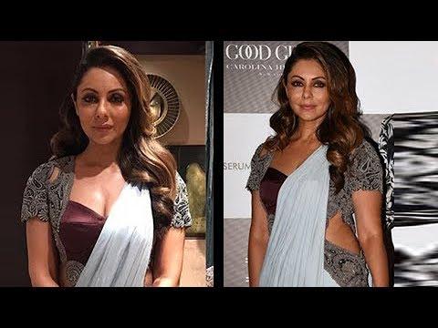 Shahrukh Khan Wife Gauri Khan Poses For Media At V