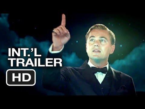 The Great Gatsby Official UK Trailer (2013) Leonardo DiCaprio Movie HD