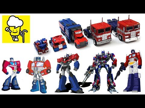 Different Optimus Prime Transformer Robot Truck Toys ランスフォーマー 變形金剛 Robots In Disguise