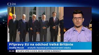 Přípravy EU na odchod Velké Británie