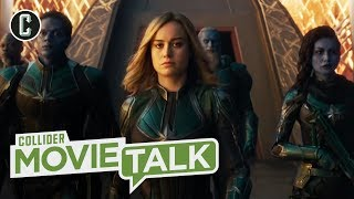Captain Marvel Trailer Further Reveals Brie Larson's Powerful Superhero - Movie Talk by Collider