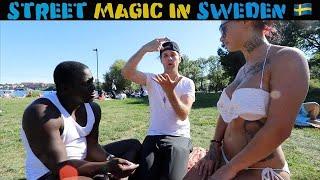 Video Swedish girls reacts to magic 🇸🇪 -Julien Magic MP3, 3GP, MP4, WEBM, AVI, FLV Juli 2018