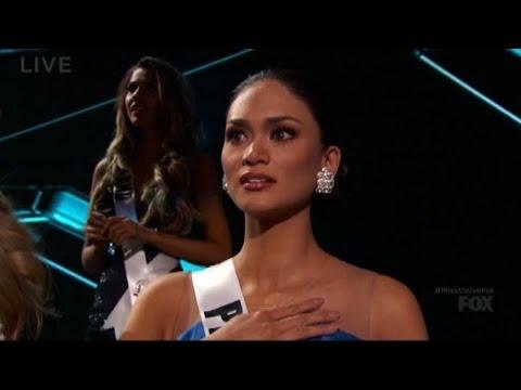 gaffe mondiale a miss universo: sbaglia ad incoronare la vincitrice!
