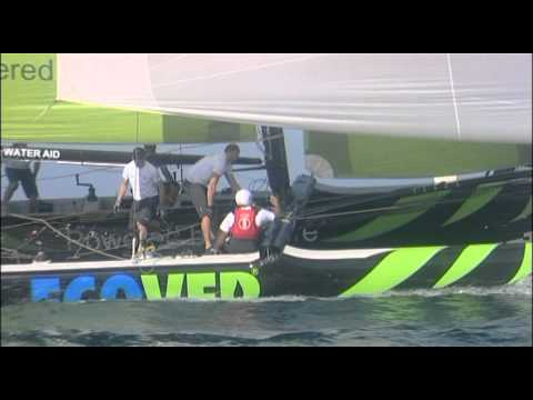 Extreme Sailing Series 2010 Trapani Giorno 1