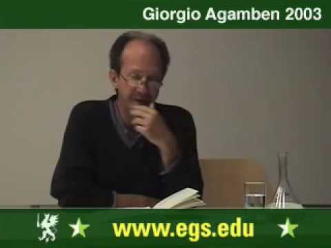 Giorgio Agamben. The State of Exception. Der Ausnahmezustand. 2003 1/7
