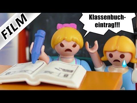 Playmobil Film Deutsch - HANNAH ALS STRENGE LEHRERIN! KLASSENBUCHEINTRAG FÜR FREUNDIN Familie Vogel
