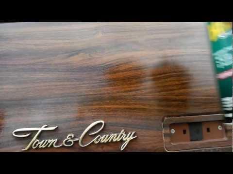 Vinyl Trim on Estate Woody 1970 Chrysler Town & Country Woodie Trim Fix