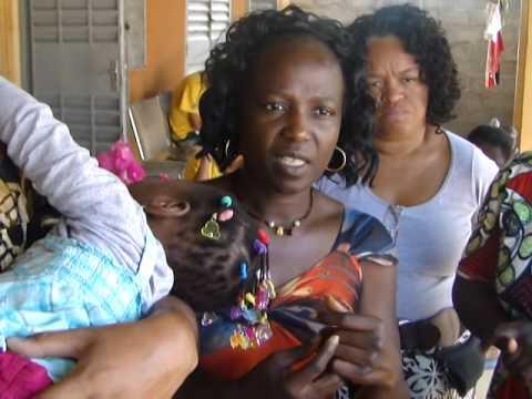 Missao Josu� �frica 2014 - Ministracao e Oracao por uma crianca