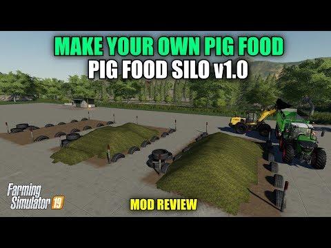 FS19 Pigfood Silo v1.0