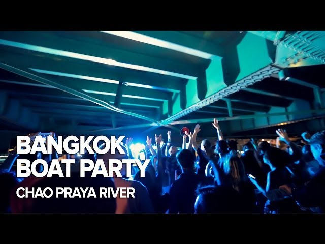 Bangkok Boat Party on Chao Praya River