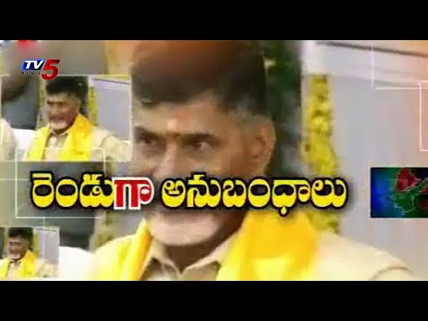 TDP divided into two | Special Committees for Two States : TV5 News