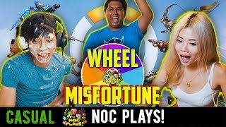 Video NOC Plays: WHEEL OF MISFORTUNE (Overwatch) MP3, 3GP, MP4, WEBM, AVI, FLV Januari 2019