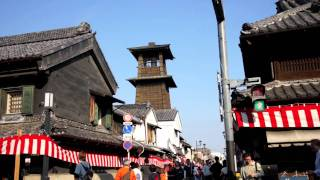Kawagoe Japan  city photos : 川越を旅する A daytrip to the Kawagoe city which is referred to as Ko-Edo town