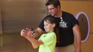 Pokemon GO is more than just fun and games at C.S. Mott Children's Hospital! Our staff uses the app and other augmented reality ...