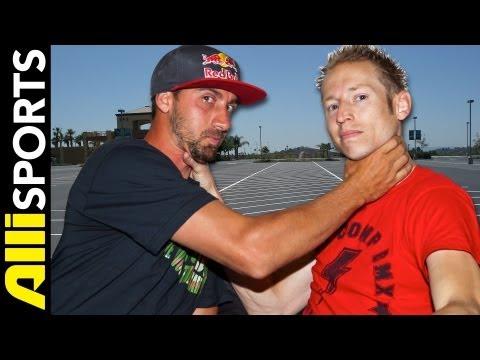 Terry Adams Vs. Matt Wilhelm BMX Flatland Battle of the Brains, Alli Sports BMX HEAD2HEAD