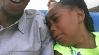 Video Kid scared to death on first roller coaster ride MP3, 3GP, MP4, WEBM, AVI, FLV Juli 2018