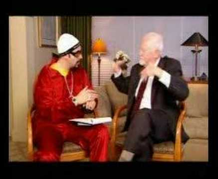 Instead of a $5 or $10 bill, wouldn't it be better to have a $5.44 or a $16.89 bill? Ali G's hilarious perspective on economics.