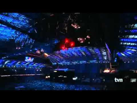Sting canta en la inaguración
