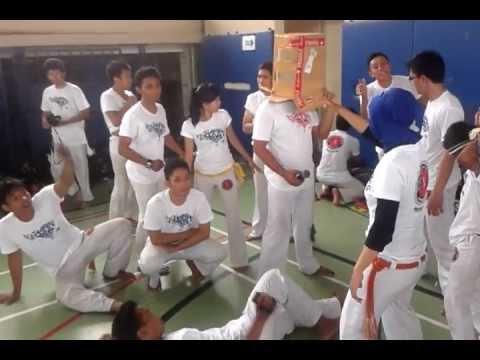 Capoeiristas e Harlem Shake
