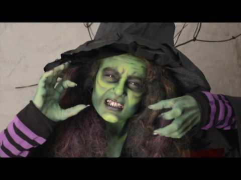 La sorcière d'Halloween - Nadia BIQUET
