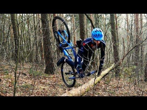 Ścieżki rowerowe w leszczyńskich lasach