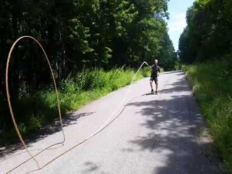 Longest Whip ever Cracked 238 feet 3 inches