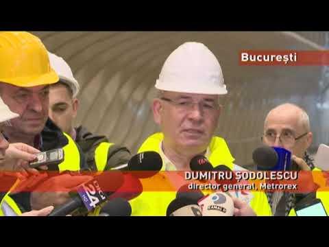 """Magistrala 5 a metroului bucureștean, finalizată """"posibil"""" până la sfârșitul anului"""