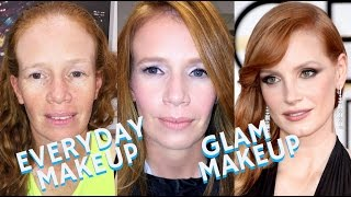 Makeup on Models that walk the runway & appear in Fashion Magazines is completely different than Makeup on Everyday Regular Women and the truth is... it's AL...