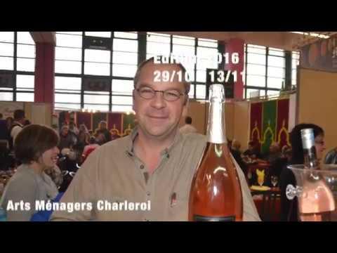 Ambiance de stand aux arts ménagers à Charleroi