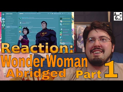 Wonder Woman Abridged Part 1: Reaction #AirierReacts