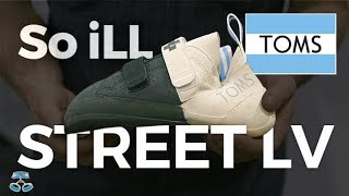 So iLL Street LV TOMS collaboration climbing shoe by WeighMyRack