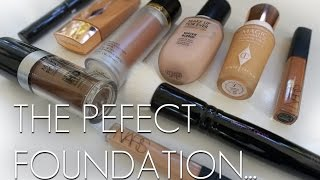 HOW TO CREATE THE PERFECT FOUNDATION! - FULL DEWY COVERAGE by Wayne Goss