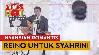Video Spesial! Reino Barack Bawakan 'Restu' Untuk Syahrini MP3, 3GP, MP4, WEBM, AVI, FLV Juni 2019