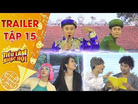 Tiếu lâm nhạc hội  Trailer tập 15: Hey Men, Rain bow & Kịch Nắng quyết đấu với chủ đề Chuyện Cổ Tích - Thời lượng: 104 giây.